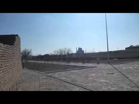 Touring Khoja Ahmed Yasawi in Turkistan   Part 2   Kazakhstan   February 2016