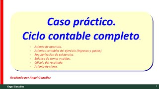 Video (11) Caso práctico contabilidad básica. Ejercicio de ciclo contable con ingresos y gastos download MP3, 3GP, MP4, WEBM, AVI, FLV April 2018