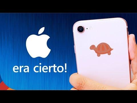 0cfdb056960 iPHONE VA LENTO A PROPÓSITO!! Solución incluída... - YouTube