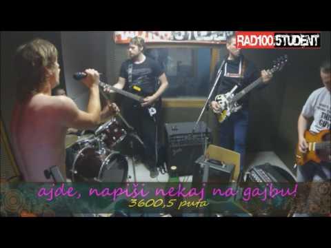 Gajba - Zašto(live at Radio Student)