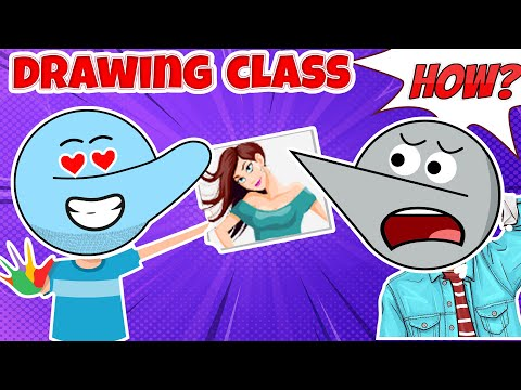 The Drawing Class | Angry Prash