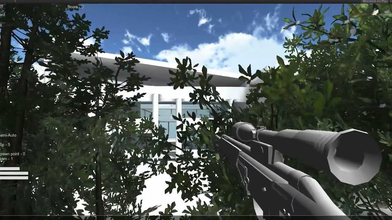 Intruder Series 001 Making a Multiplayer FPS