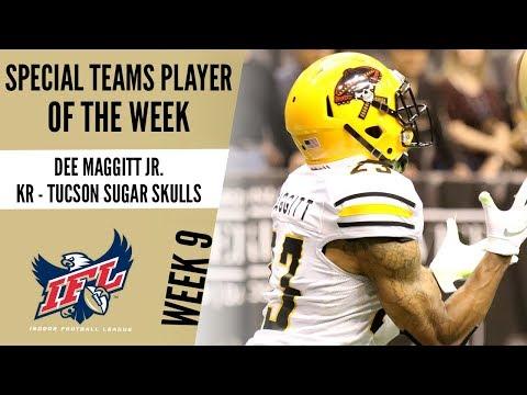 Week 9 Special Teams Player of the Week: KR Dee Maggitt Jr.