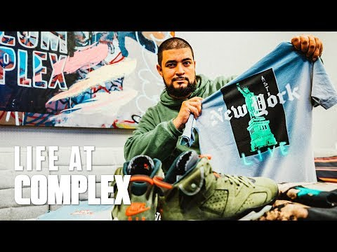 Reselling Travis Scott Merch & Predicting Supreme Prices! | #LIFEATCOMPLEX