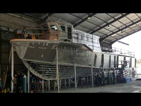 24m Aluminum Hull Crew/Supply Transporter