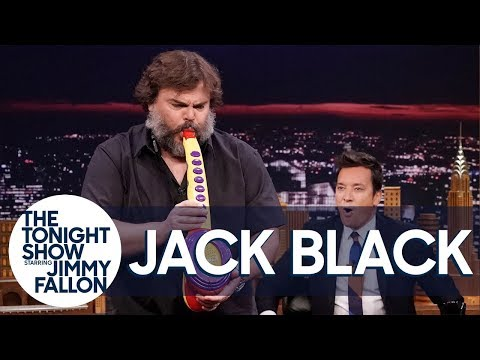Jack Black Performs His Legendary Sax-A-Boom with The Roots