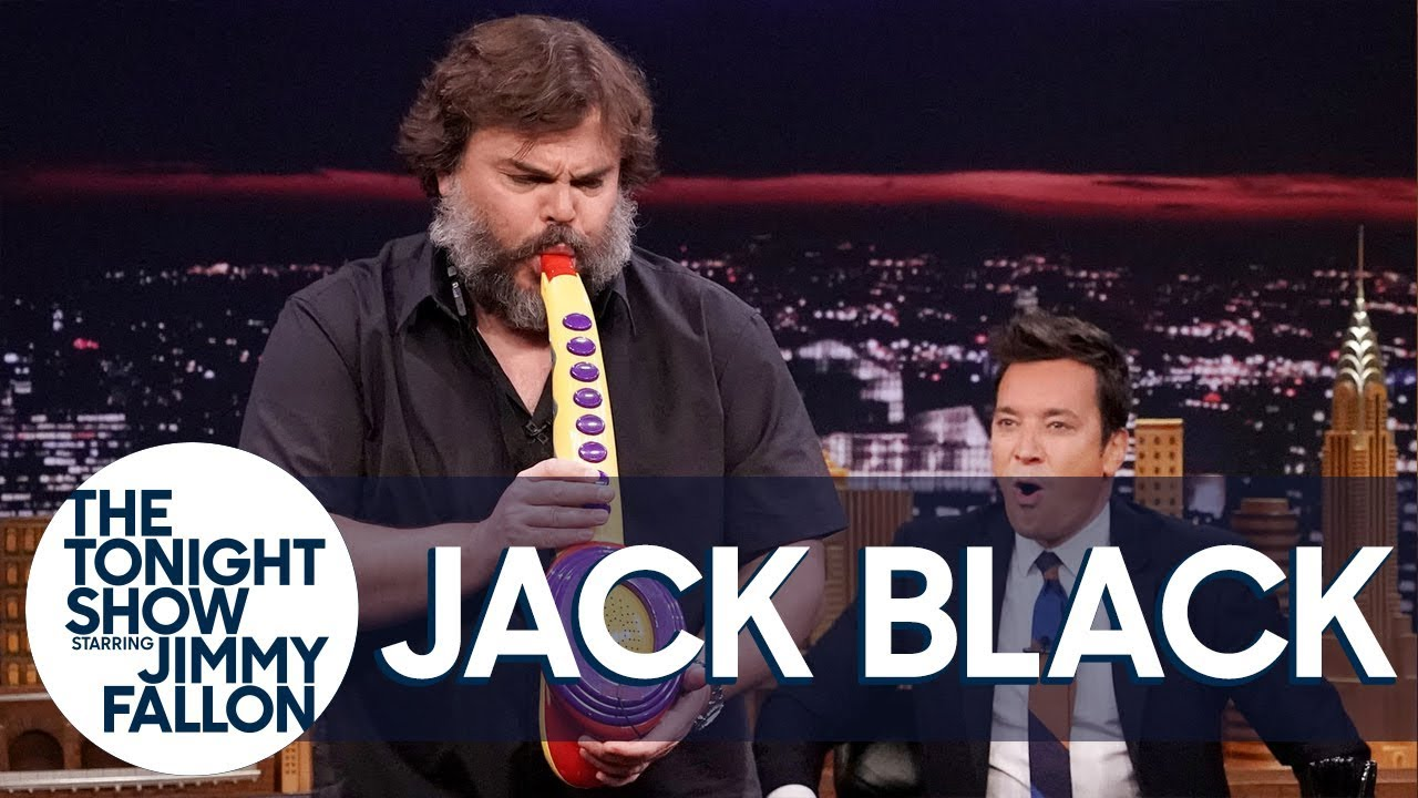 Jack Black Performs His Legendary Sax-A-Boom with The Roots #1