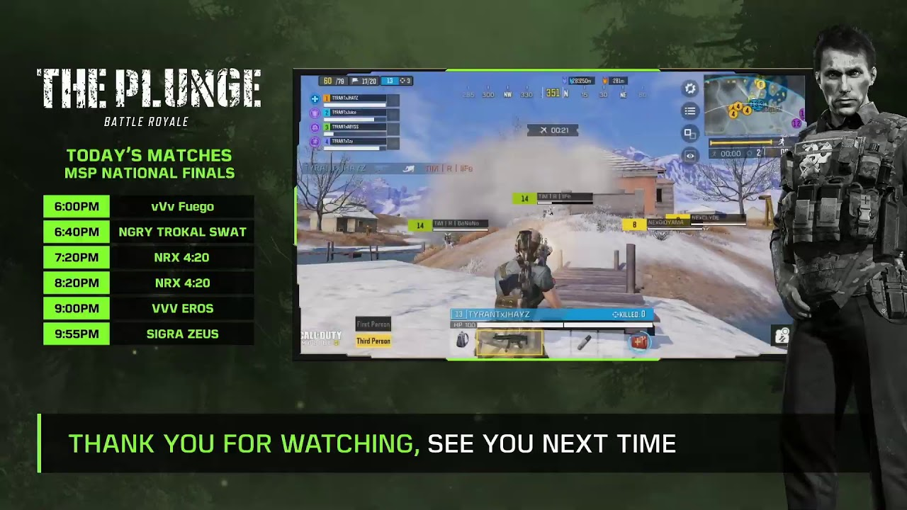 🔴 LIVE The Plunge Season 2: MSP Finals | Call of Duty®️:Mobile - Garena