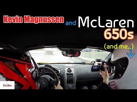 McLaren 650S + McLaren F1 driver Kevin Magnussen = FUN! :D