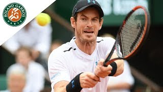 Andy Murray - Top 5 | Roland-Garros 2017