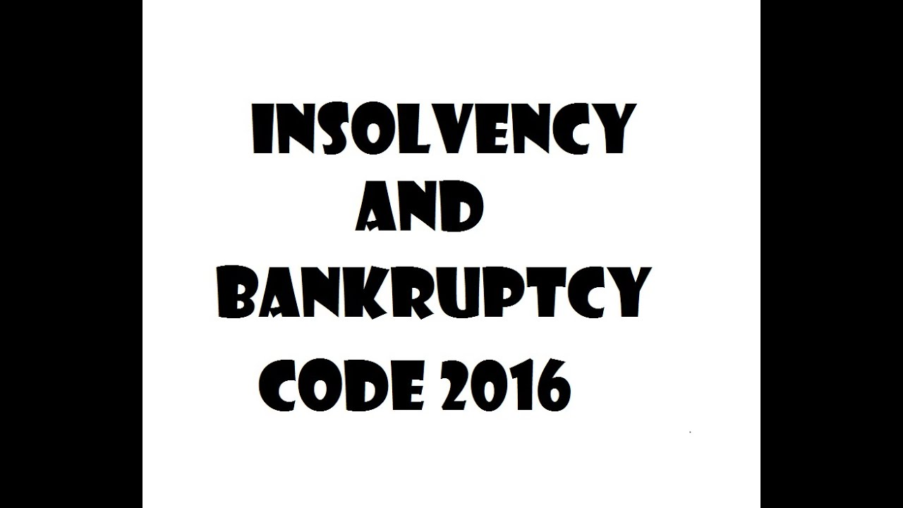 United states bankruptcy code 2016 edition array insolvency and bankruptcy code 2016 youtube rh youtube fandeluxe Image collections