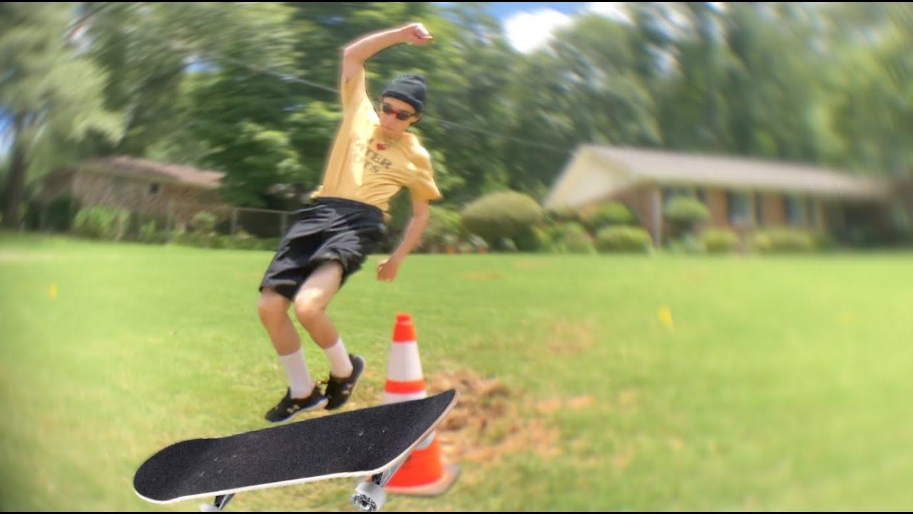 skateboarding but i edit the skateboards in