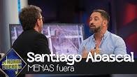"""Santiago Abascal: """"A los MENAS hay que expulsarlos"""" - El Hormiguero 3.0"""