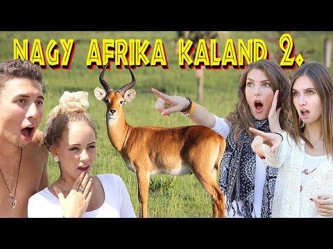 KÖZÉPSULI sorozat - 63. rész - NAGY AFRIKA KALAND 2. rész [KÖZÉPSULI TV]