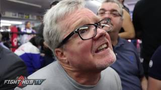 Freddie Roach recalls the first day Pacquiao came to Wild Card