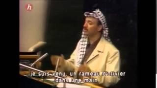 Yasser Arafat: Extrait du discours devant l'Assemblée générale de l'ONU, le 13 novembre 1974