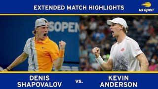 Extended Highlight: Denis Shapovalov vs. Kevin Anderson | 2018 US Open, R3