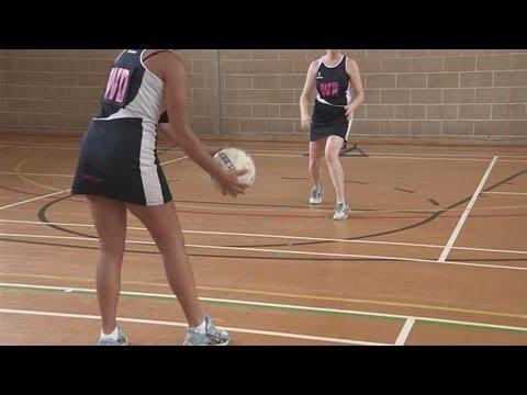 Bounce Pass Netball Drill Netball Drills, Videos and ...