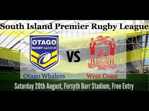 Otago Whalers vs West Coast Chargers