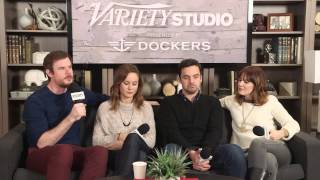 """'Making A Film Is Like Throwing A Party' Says The """"Digging for Fire"""" Cast"""