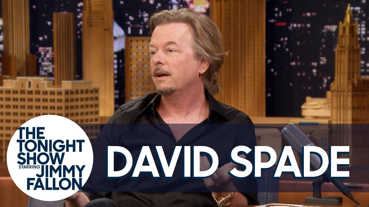 David Spade Talks About A Polaroid Guy in a Snapchat World