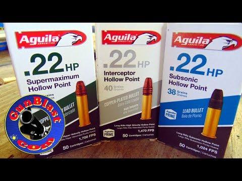 Aguila 22 Long Rifle Ammo - Gunblast.com