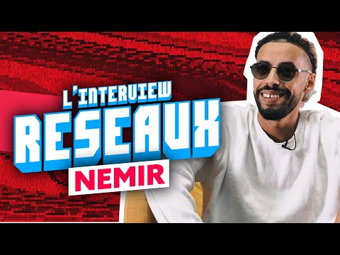Youtube: Interview Réseaux Nemir: Squeezie tu follow? Fifa tu likes? Cardi B ça match?