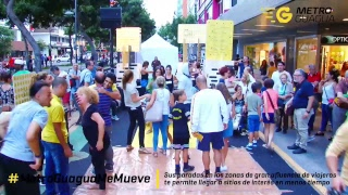 Evento de dinamización #MetroGuaguaMeMueve