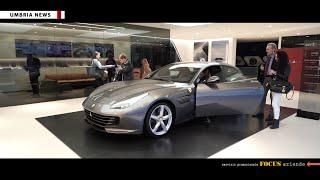 Nuova Ferrari Gtc4 Lusso alla concessionaria De Poi CDP [UMBRIA NEWS]