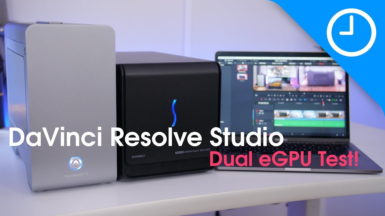 Hands-on: DaVinci Resolve's eGPU-accelerated timeline
