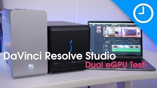 Video Two eGPUs at ONCE?! Supercharge DaVinci Resolve on Mac! [9to5Mac] download MP3, 3GP, MP4, WEBM, AVI, FLV April 2018