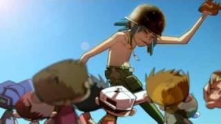 Скачать Gorillaz Dirty Harry Official Video