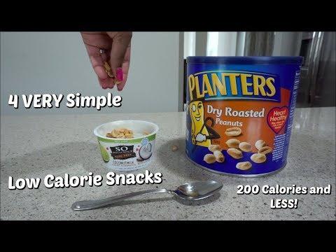 4 Easy Snacks 200 Calories & Under!