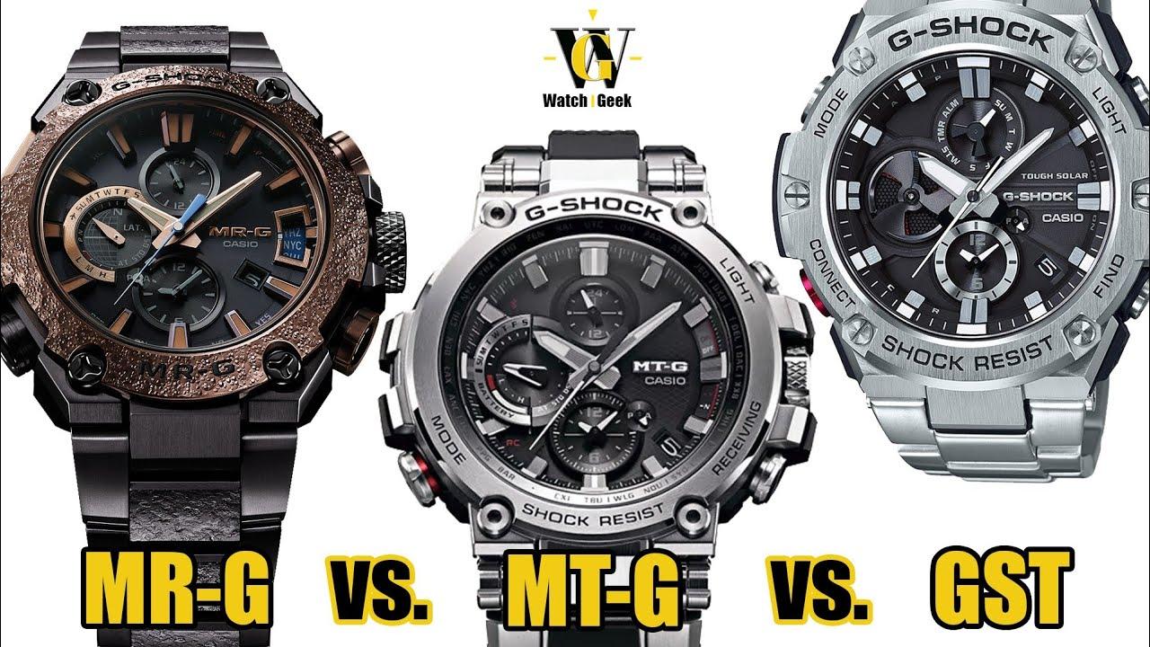 6d6098ec86 Buying guide - Metal G-Shocks compared - MR-G vs. MT-G vs. GST