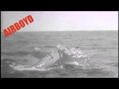 American Sub Rescues Airmen (1944)