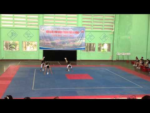 Bài tự chọn 3 người Aerobic THPT Phan Châu Trinh Đà Nẵng 2013