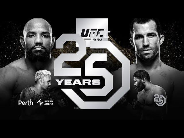 UFC 221: Conteo Regresivo - Romero vs Rockhold #1