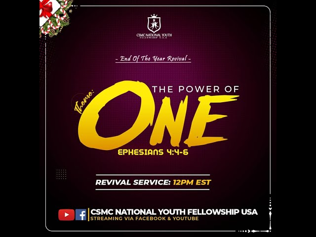 2020 End of Year Revival Service