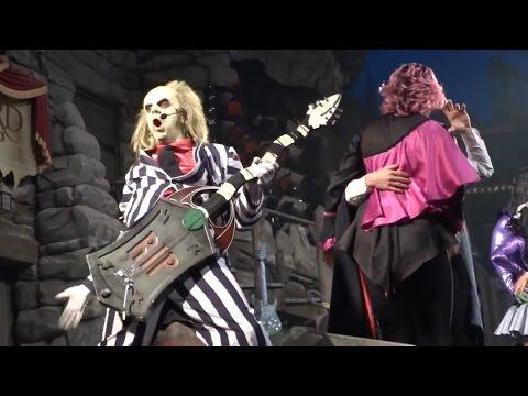 (2015) Beetlejuice's Graveyard Mash Up Full Show at Universal Studios Florida 12/29/15