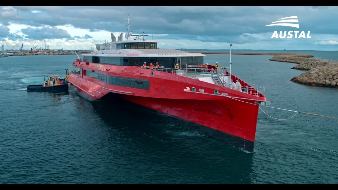 Austal Hull 396 - Queen Beetle - Launch