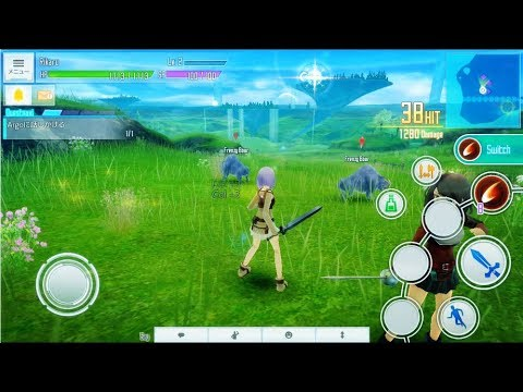 Finaly!!   Sword Art Online: Integral Factor android / IOS Open Server and download
