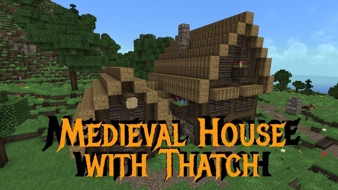 Minecraft Gundahar Tutorials Medieval House With