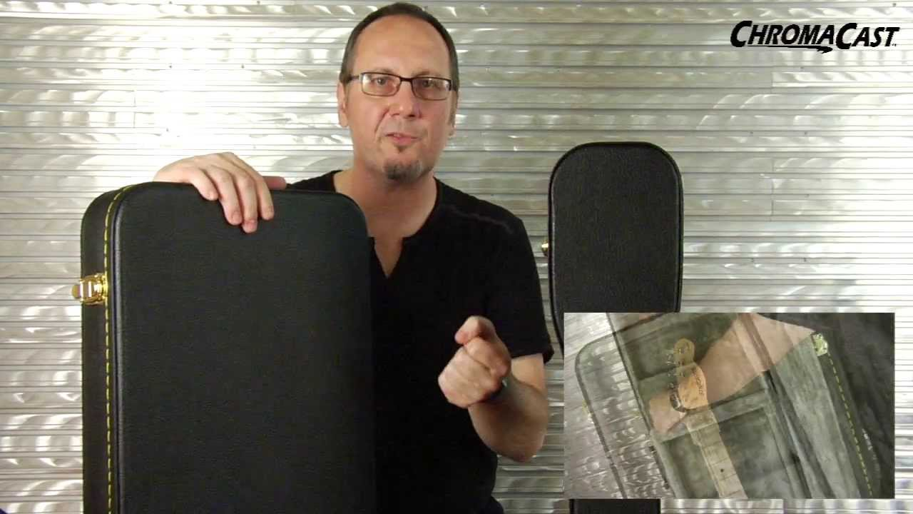 3b5bf7d41e ChromaCast Acoustic and Electric Guitar Hard Cases - YouTube