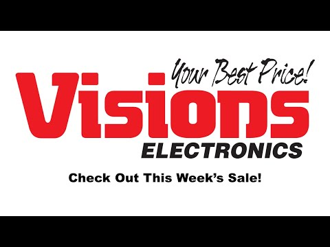 Check Out What Is This Week's Sale! - Starts August 23 2019 | Visions Electronics from YouTube · Duration:  24 seconds