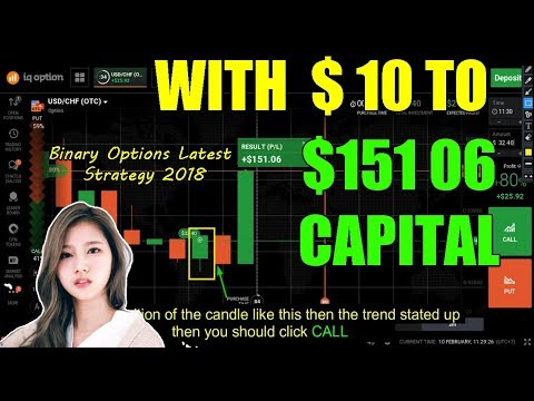 HOW TO ARRANGE FINANCIAL WITH || $ 10 TO $ 151 06 CAPITAL   Binary Options Latest Strategy 2018