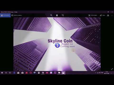 Skyline coin coming soon  ico plan in india