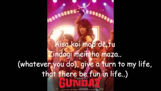 Asalaam e Ishqum- Gunday Full Song Lyrics with English Subtitels HD