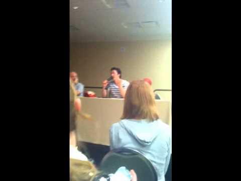 Todd Haberkorn (Natsu) Confessing His Love To Lucy