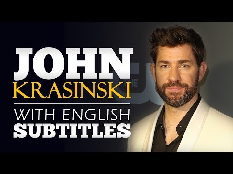 ENGLISH SPEECH | JOHN KRASINSKI: Find Your People (English Subtitles)