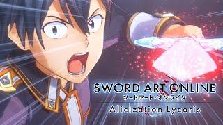 Sword Art Online Alicization Lycoris Part 1 Kirito Meets Eugeo Gameplay Walkthrough